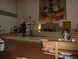 Rott Kinderkirche Palmsonntagsmärchen Familienmesse Weide - Igel 2013