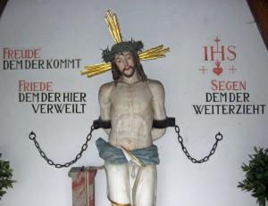 Winklkapelle Christus