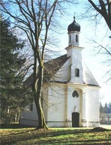 Lorenzkapelle - Epfach (Westfassade)